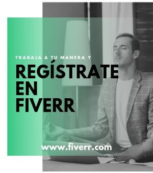 ¡Regístrate en Fiverr!
